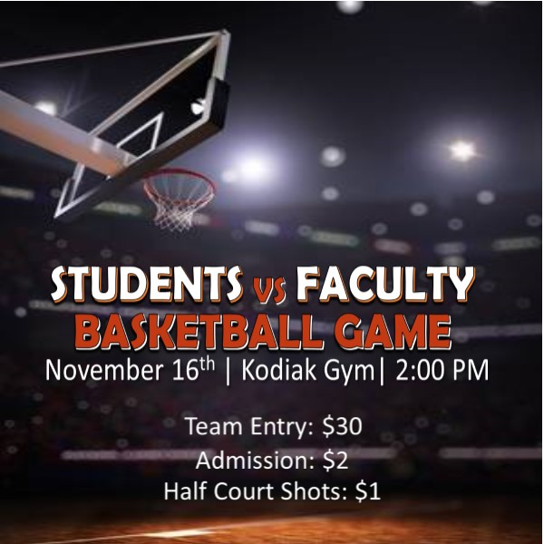 Annual Students vs. Faculty Basketball Game