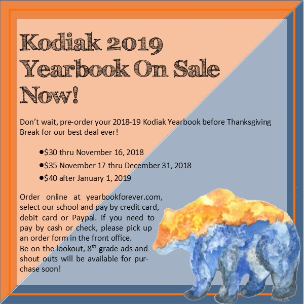 2109 Kodiak Yearbook