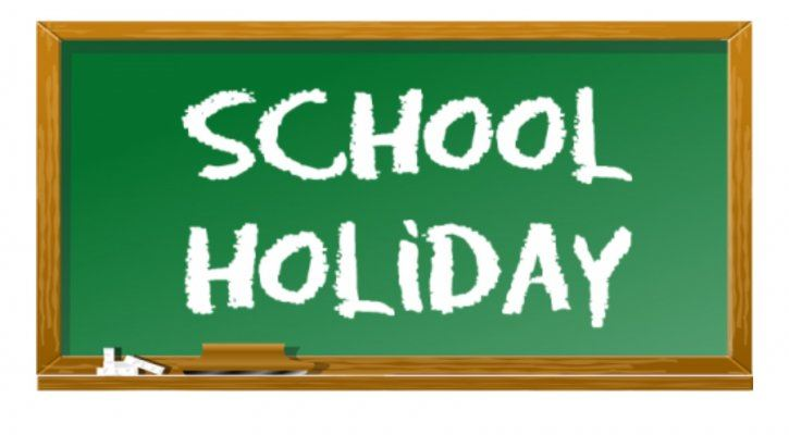 February 17 -  Staff and Student Holiday   NO SCHOOL