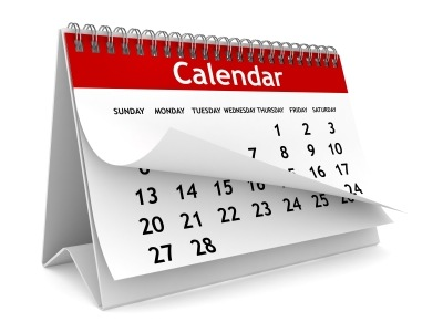 Click here for November Calendar