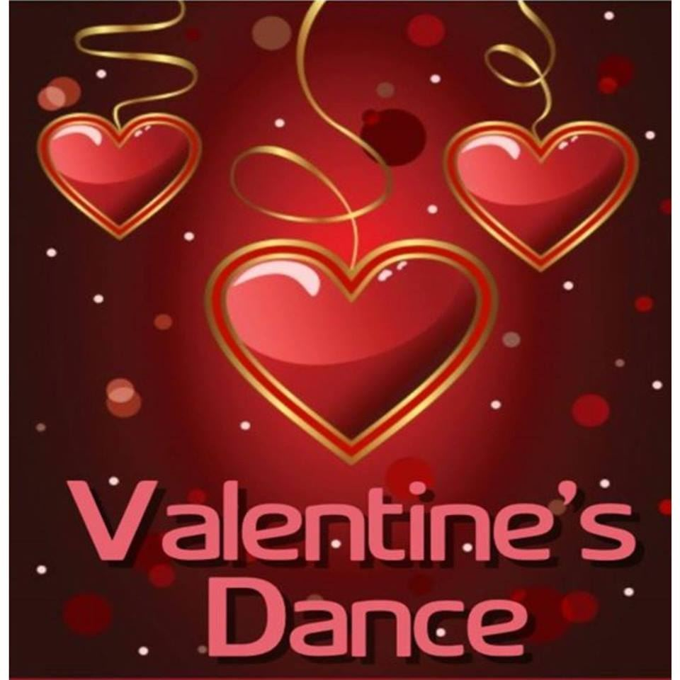 February 7 -   Valentine's Dance 6:00-8:30pm.      Court at 7:45    Tickets will be sold at the door for $10.00 per person.