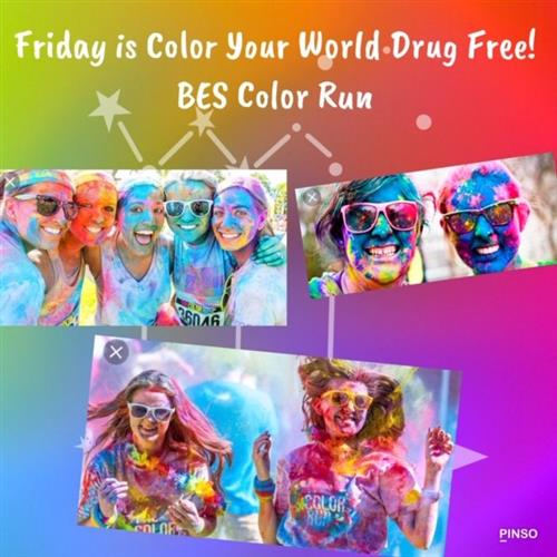Color Your World Drug Free