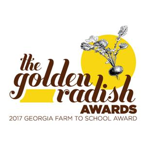 Georgia Golden Radish Award Logo