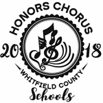 Graphic for 2018 Elementary Honors Chorus