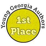 Young Georgia Authors First Place Badge
