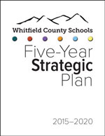 WCSchools Strategic Plan Cover. Click to download.