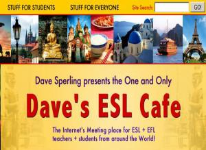 ESL teacher Dave Sperling's in-depth site provides numerous lessons about sentence structure, word use, and more. It's one of the best instructor-led websites for learning English.