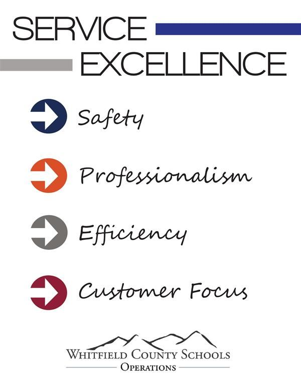 Department Goals: Safety, Professionalism, Efficiency, and Customer Focus