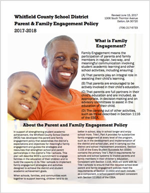 Parent Engagement Policy Cover